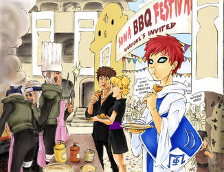 Kazekage Gaara invites to... by nenee