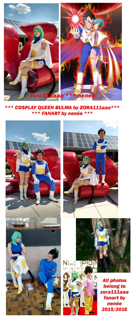 *** AWESOME COSPLAY: Queen Bulma by Zora11aaa ***