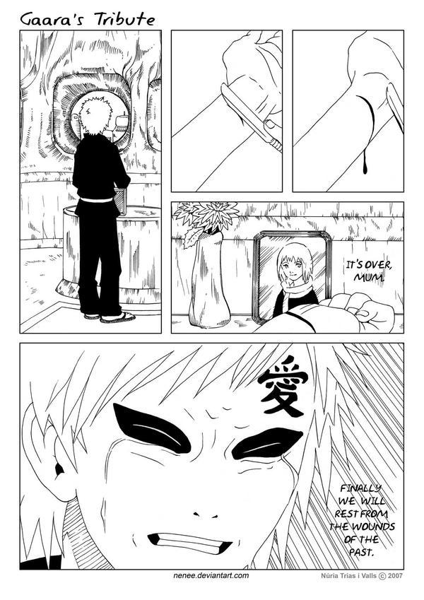 Gaara's Tribute - page 02 by nenee