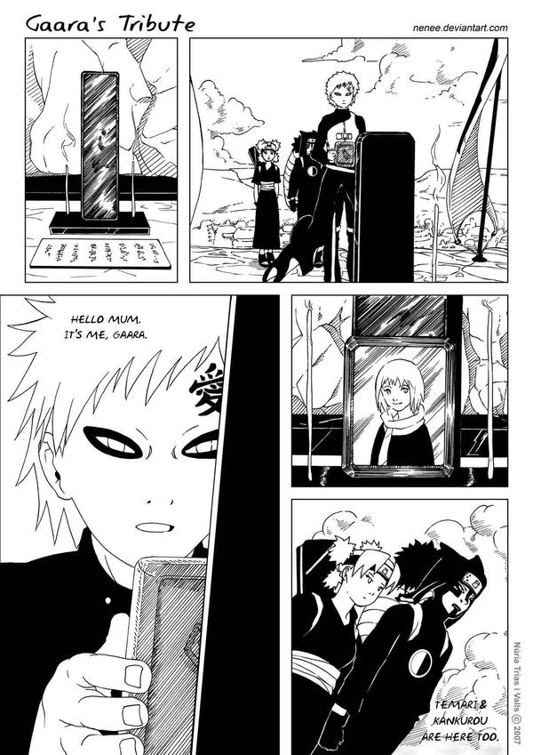 Gaara's Tribute - page 04 by nenee