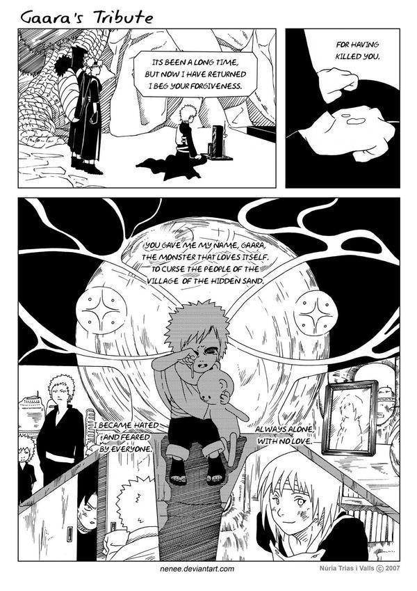 Gaara's Tribute-  page 05 by nenee