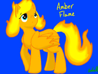 Amber Flame by Alomaire