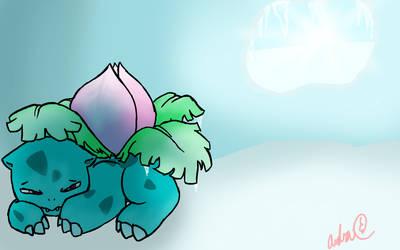 #002 Ivysaur by Alomaire