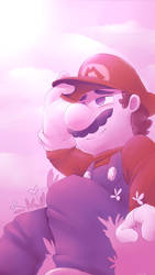 Mario Phone Background by Alomaire