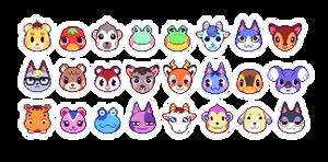 Animal Crossing Pixels