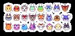 Animal Crossing Pixels by petalade