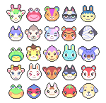 Animal Crossing (batch 2) by petalade