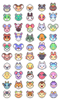 Animal Crossing (batch 3) by petalade