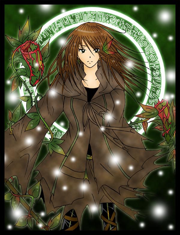 Shinri the Forest Charmer by kazemachi