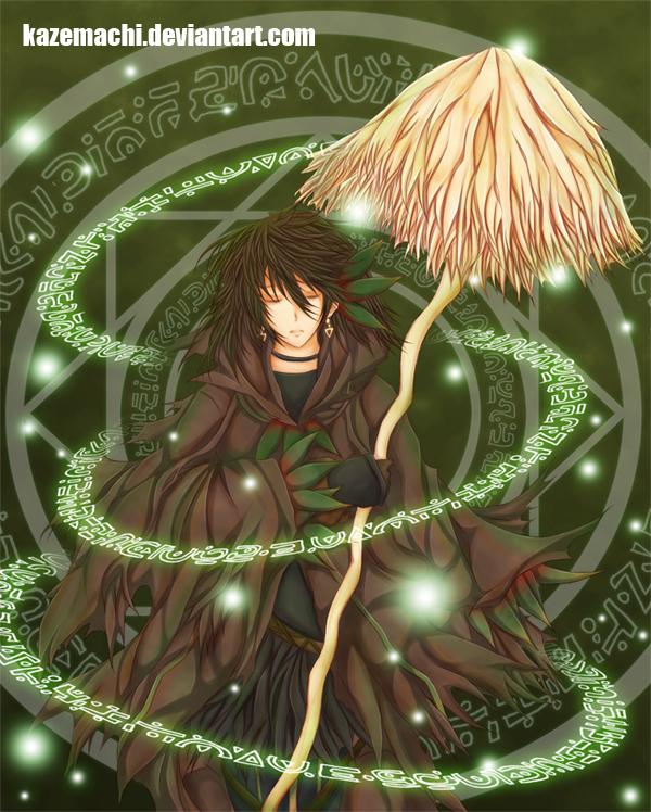 Forest Sorceress - Shinri by kazemachi