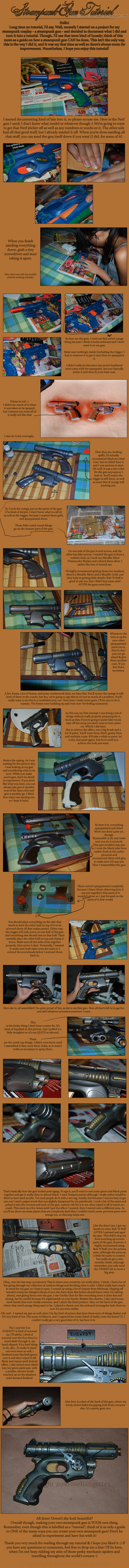 Steampunk Gun Tutorial by Merusan