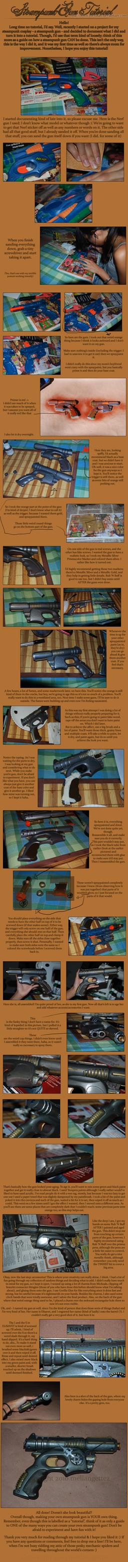 Steampunk Gun Tutorial by Merusan