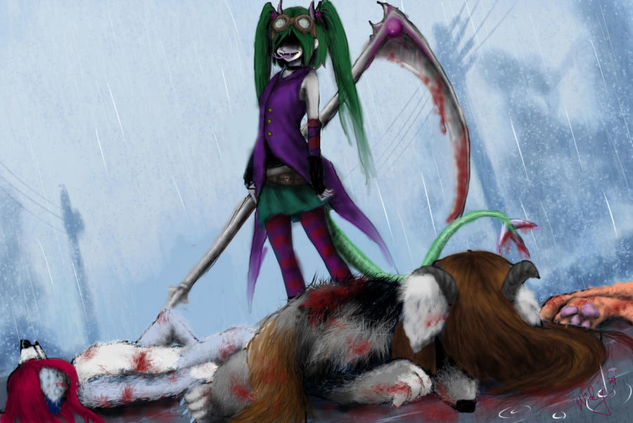 XDD Furry massacre! by WickyEnvyLeviathan