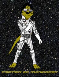 Captain EO Mongoose! by cartercomics