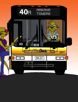 Hawaiian bus driver mongoose!