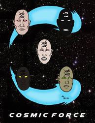 2016 Cosmic Force Logo Shirt by cartercomics