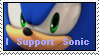 I Support Sonic by NightsWarriors