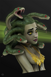 Medusa by cecilbasilio