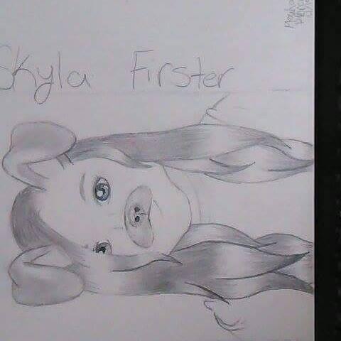 My Friend Skyla Firster by Shmegicorn