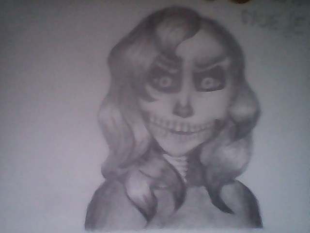 Skeleton Girl by Shmegicorn
