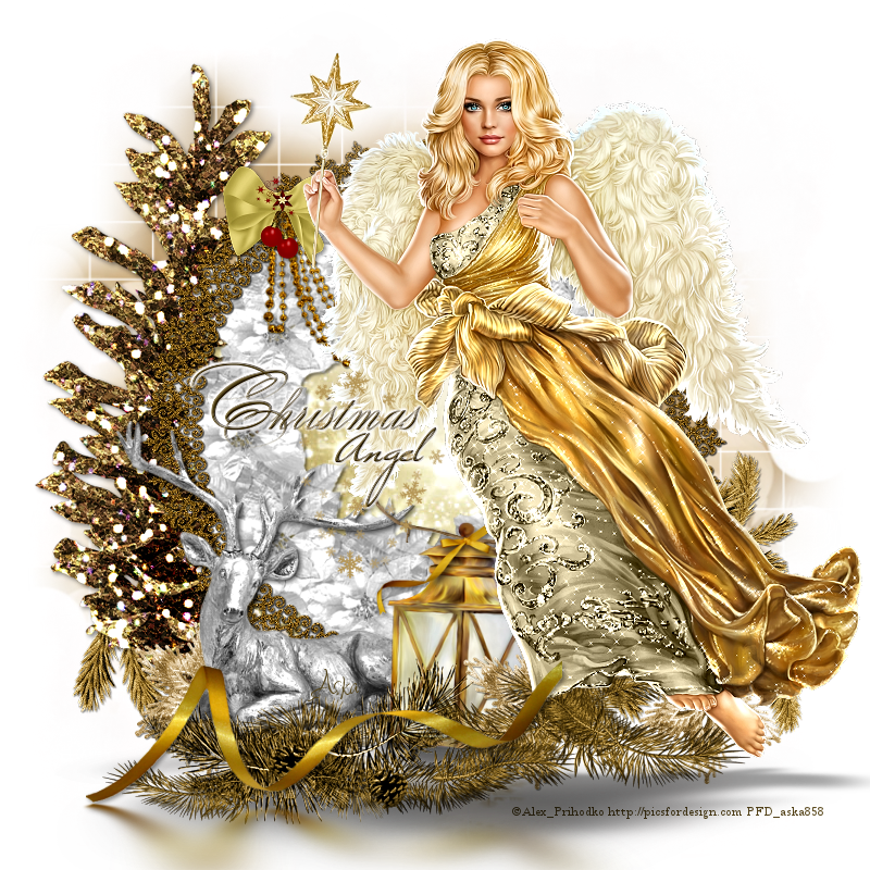 Christmas angel by miniaska on DeviantArt
