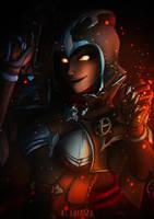 Demon Hunter Sombra by Klabiama