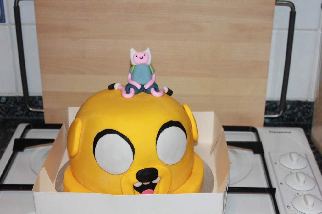 Adventure Time Birthday Cake By Xhalloweenx On Deviantart
