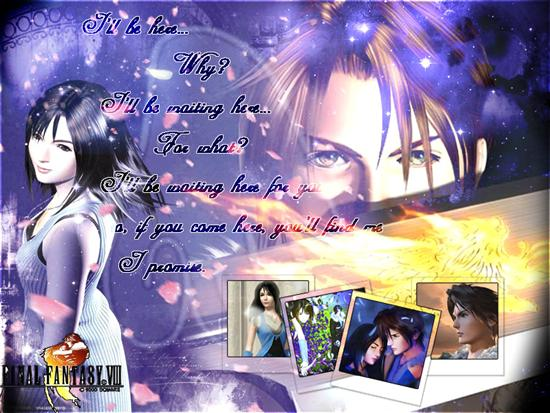Squall And Rinoa Wallpaper Rinoa x Squall by
