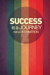 Success Quote Poster Design