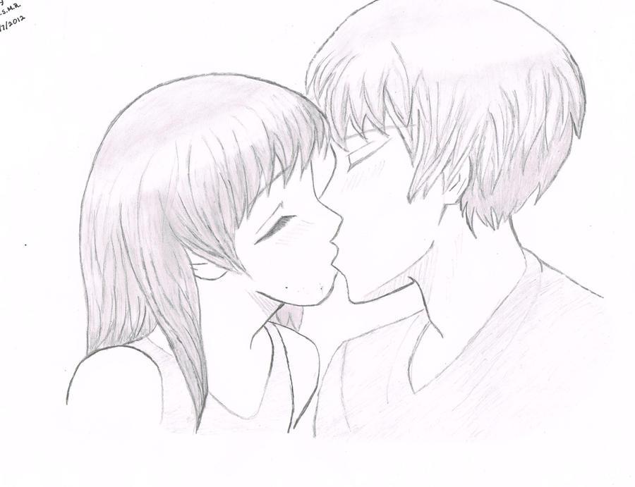 Pencil Drawings Of People Hugging easy pencil dra