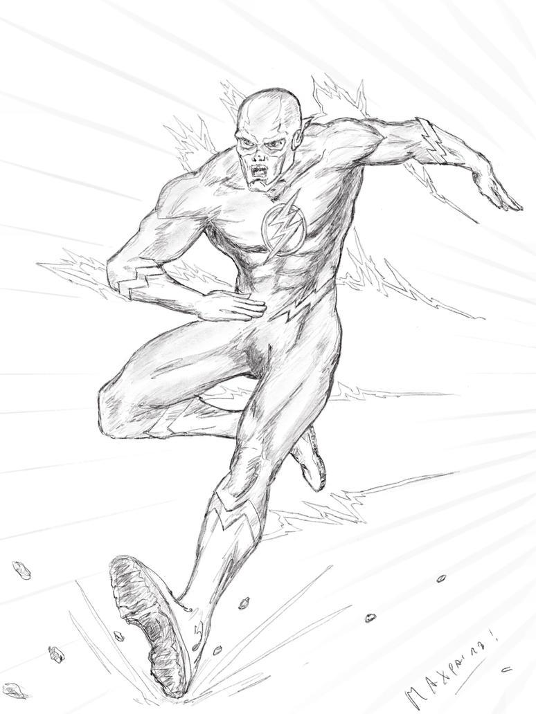 Flash Running by maxpa27