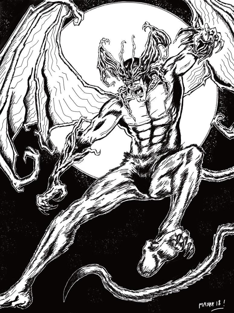 Devilman - Ink version by maxpa27