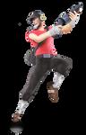 TF2 Scout Smash Styled Render [SFM]