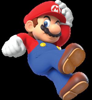Mario Holding Hat Remake