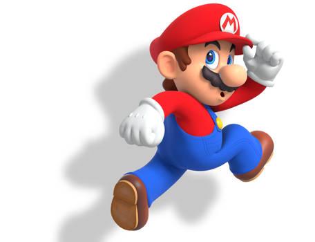 Super Mario 3D Land Render Remake