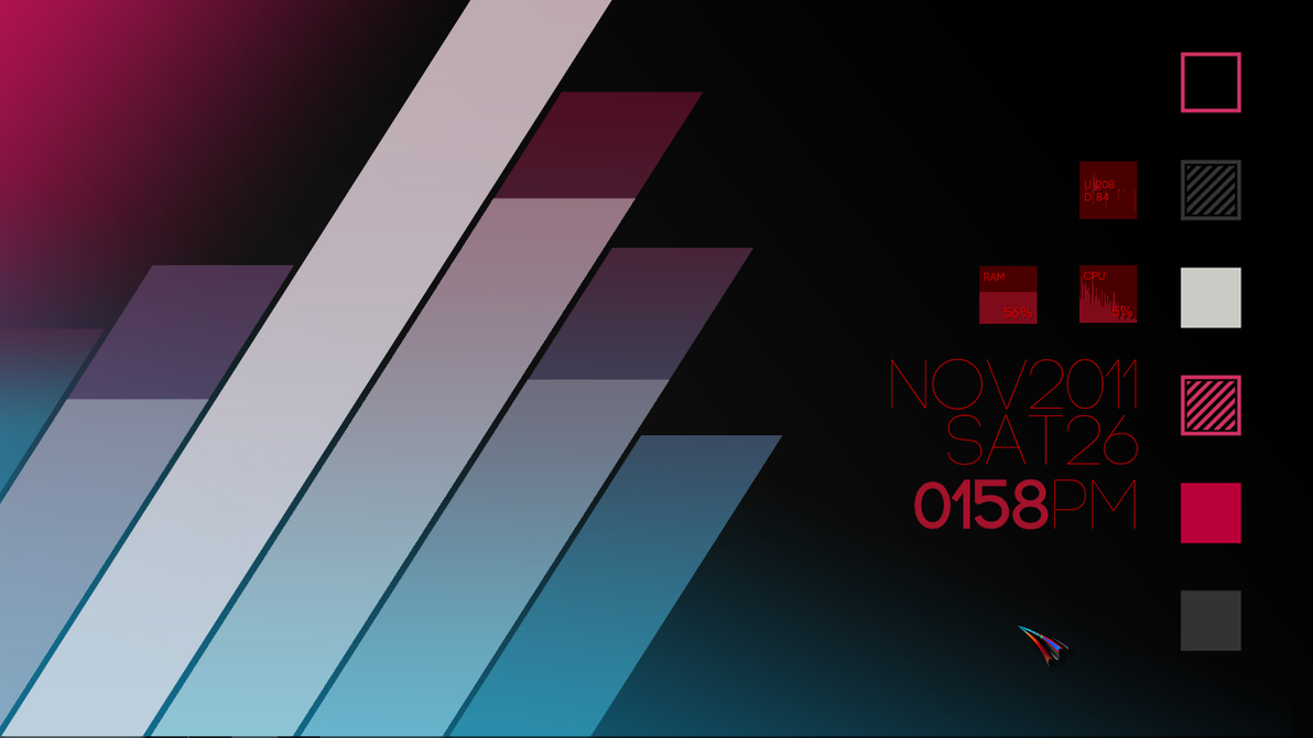 Jaifi s desktops gradient stripes by xelloghama