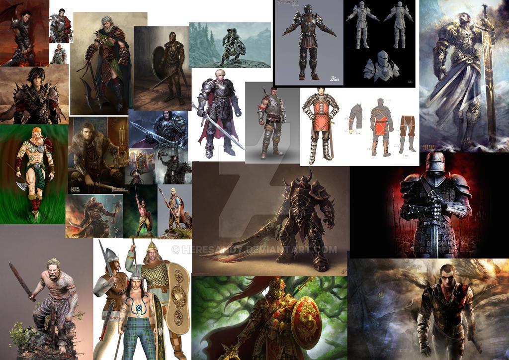 Warrior 1 by HeresAndy