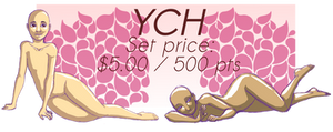 OPEN YCH (1/4): Lying down (USD/PTS)
