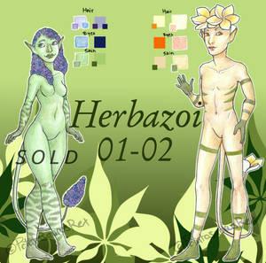 OPEN Set price: Herbazoi 01-02 (USD/PTS)
