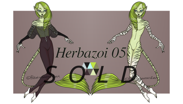 CLOSED Set price: Herbazoi 05 (USD/PTS)