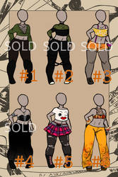 OPEN Set price: Crop top outfits (USD/PTS) SALE