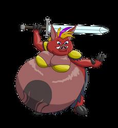 Hel is ready for battle