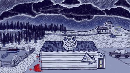 Pig Farm scene by GamingCatsStudio