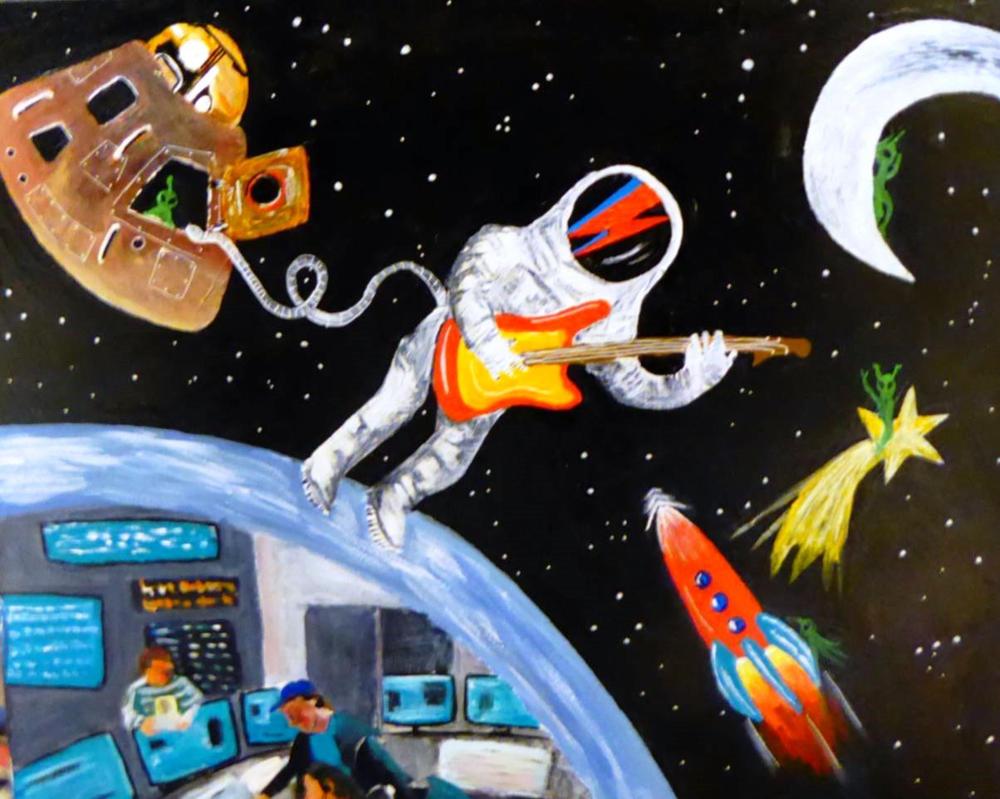 Space Oddity by Astrid-Ulfdottir