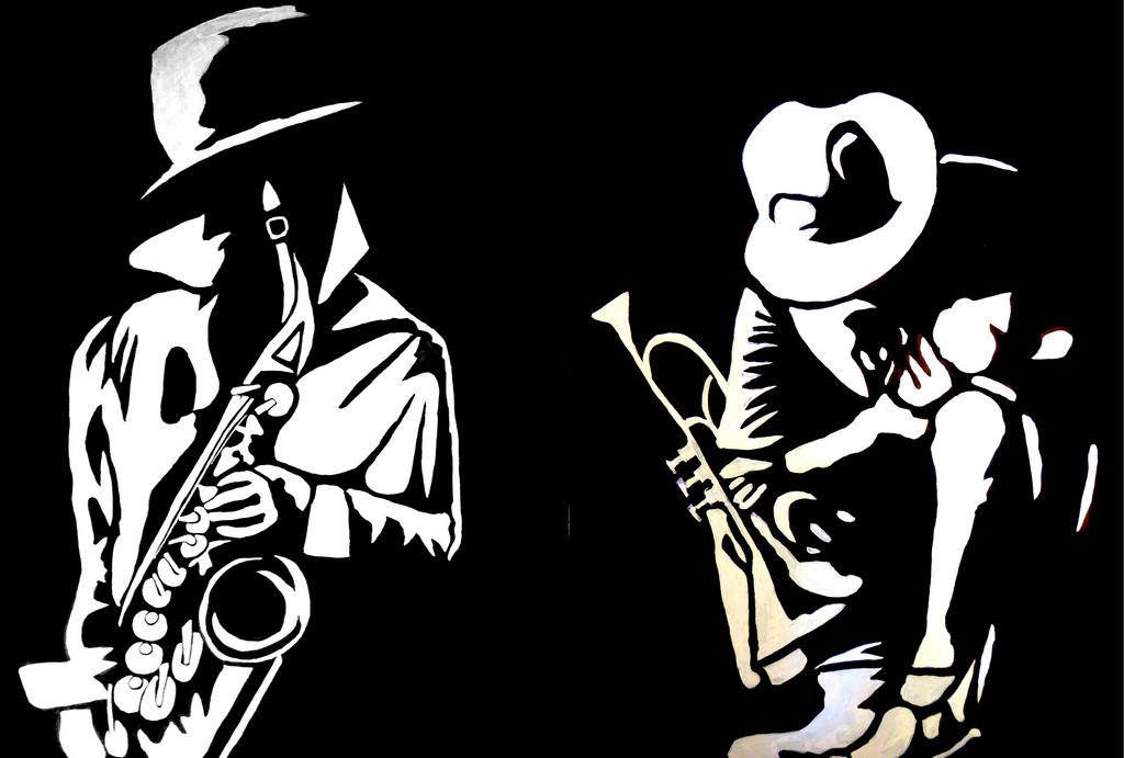 Jazzmen by Astrid-Ulfdottir