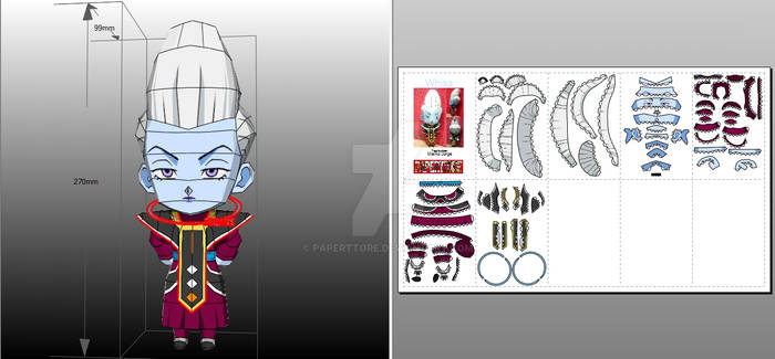 Whis Papercraft
