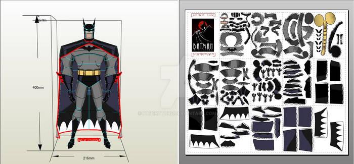 Papercraft Batman DLC
