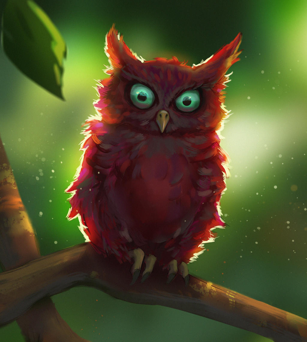 Devilish Owl by TylerJustice