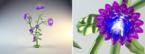 Crystal Flower by DarkBere