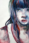 watercolor self portrait 2